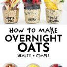 6 Healthy Overnight Oats Recipes (+FAQ and Tips)
