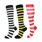 Compression Socks Athletic Men Women Best Graduated Breathable Nursing Socks Fit Running Outdoor Hiking Flight For AM - QMIX003-52 / L-XL