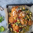 Pasta mit Ofengemüse: Schnelles Sommeressen ⋆ Knusperstübchen