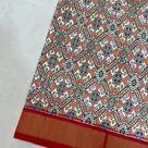 poochampally double weaving silk saree