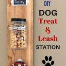 DIY Hundezubereitungs- und Leinenstation mit Milchknochen #ad - Hausplanung. - #amp #DIY ...