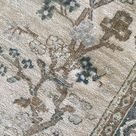"4 x 6 Vintage Persian Bakhtiari Rug No. 683 4'4"" x 6'"