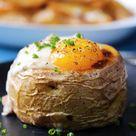 Roasted Potato Croque Madame