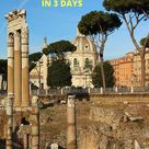 3 Days in Rome An Itinerary for History Lovers
