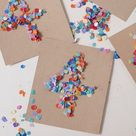 Geburtstagseinladungen selber machen! Konfetti für alle!   tastesheriff
