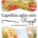 Capellini con aglio, olio e peperoncino - Minime.Life