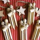 Clothes Pin Ornaments
