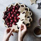 Gluten-Free Cherry Pie with Bourbon & Spice