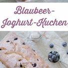 Schneller Blaubeer-Joghurt-Kuchen - Schnin's Kitchen