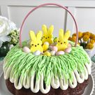 Easter Basket Bundt Cake Recipe (Easy Spring Dessert!)