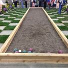 Terrain de boules garden outdoor pinterest terrain for Dimension terrain de boule