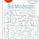 4x Bio-Mindmaps, geeignet auch zum #homeschooling