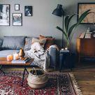 Klassiek vloerkleed in de woonkamer. Zorgt voor een warme sfeer in de kamer. #kl… – 2019 - Apartment Diy