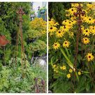 TWO-STAR and IVY Tower Trellis All Metal for your Tomatoes, Vines and Cottage Garden
