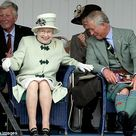 Queen Elizabeth Laughing