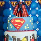 Superman Birthday Party Planning Ideas Supplies Idea Clark Kent Cake