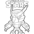Free Brawl Stars Crow coloring pages. Download and print Brawl Stars Crow coloring pages