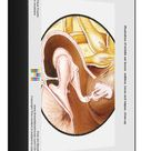 1000 Piece Puzzle. Illustration of middle ear bones, malleus,