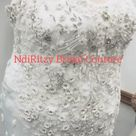 Plus size wedding dress by Ndiritzy Bridal Couture