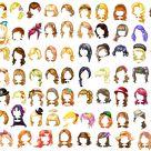 Fantage Kit ~ Hair :UPDATE: by Fantage-CustomMaker on DeviantArt