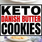 Keto Danish Butter Cookies