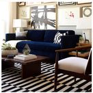 Navy Couch