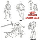 Star Wars The Force Awakens Coloring Sheets - Beauty Through Imperfection