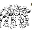 Coloriage Tortues Ninja : imprimez gratuitement sur notre blog !