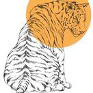 Cats & Dots  A3 Art Print Tiger Cheetah Caracal Lion | Etsy