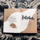 October Bullet Journal Cover Ideas [2021 Update] - AnjaHome