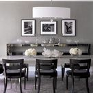 Grey Dining Rooms
