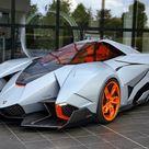 Lamborghini Egoista on Display at Lamborghini Museum