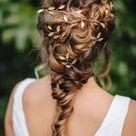 Gold Boho Hair Vine, Wedding Hair Accessories, Bridal Hair Piece, Gold Leaf Vine, Wedding Hair Accessories, Bridesmaid Hair Pin, Leaf Vine