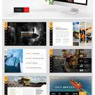 Industrial - Factory Presentation Layout Design