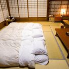 Get a great nights sleep on a futon bed in Japan and learn about its history