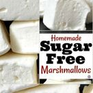This is How to Make Sugar Free Marshmallows yourself