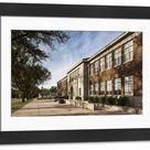 Large Framed Photo. USA, Kansas, Topeka, Brown vs. Board of