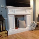 Fake It Til You Make It--The Making of a Faux Fireplace