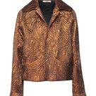 ODEEH Women's Suit jacket Ocher 8 US