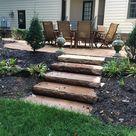 60+ Ideen, Beispiele und Tipps für die Treppen im Garten