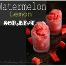 Watermelon Sorbet Recipes