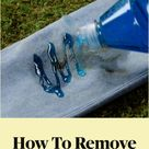 How To Remove Your Stains!