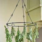 Herb Drying Rack for Preserving Herbs   Gardener's Supply   Herb drying racks, Drying herbs, Indoor