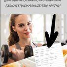 Der perfekte Ernährungsplan für den Muskelaufbau - Der 7 Tage Plan!