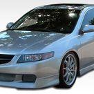 2004 2005 Acura TSX Duraflex J Spec Body Kit   4 Piece   Includes J Spec Front Lip Under Spoiler Air Dam 105223 J Spec Rear Lip Under Spoiler Air Dam 105225 J Spec Side Skirts Rocker Panels 105224