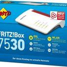 AVM FRITZBox 7530 WLAN fritz box Router Dual WLAN Mesh VDSL Gigabit DSL Modem