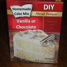 Vanilla Cake Mixes