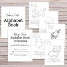 Baby's First Alphabet Book  Baby Shower Game / Activity  | Etsy