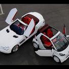 2008 Brabus Mercedes Benz SLR McLaren Roadster and Brabus smart Ultimate 112 Tender Package Duo 2