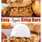 The Best Apple Crisp Bars - Baker by Nature